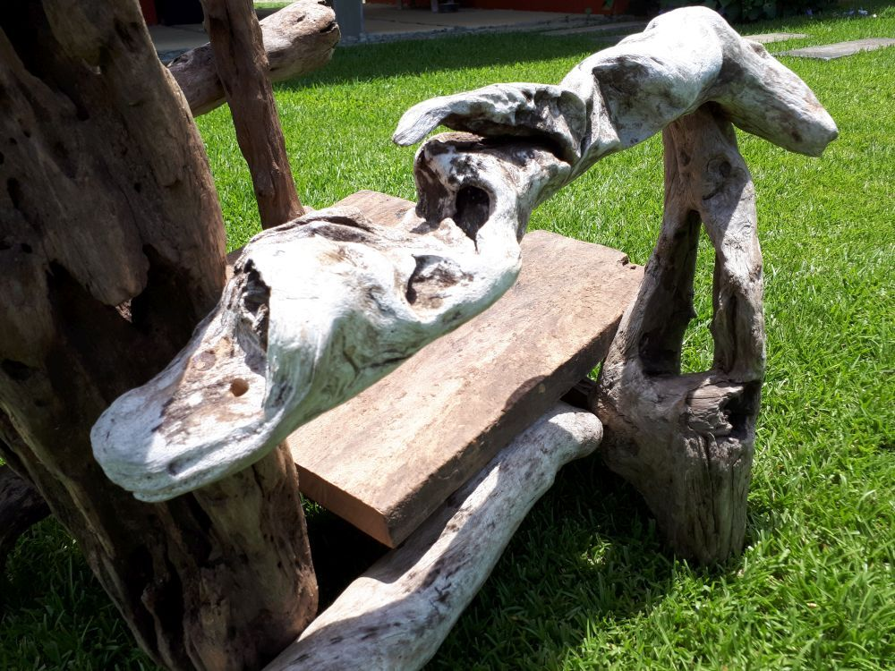 Driftwood Art Chair: Crazy Magic